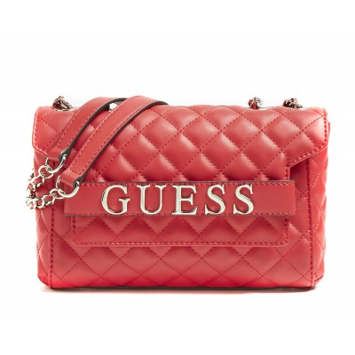 Guess Bag Crossbody Illy Quilted-Red