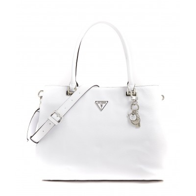 Guess Shopper Bag Destiny Charm-White