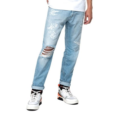 Replay Jeans Tapered Fit Tinmar-Super Light Blue