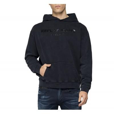 Replay Sweatshirt Replay Jeans Atelier-Black
