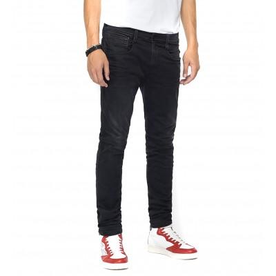 Replay Jeans Slim Fit Anbass Hyperflex X.L.I.T.E Re-Used-Black