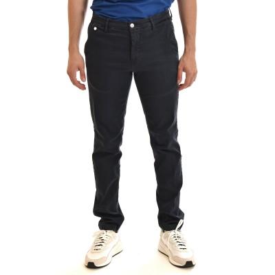 Replay Jeans Chino Benni Regular Fit Hyperchino Color X.L.I.T.E.-DK Blue