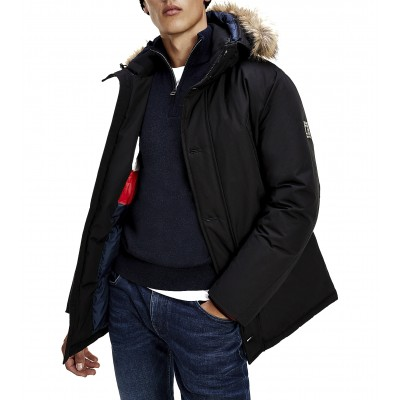Tommy Hilfiger Jacket Parka Hampton Down-Black