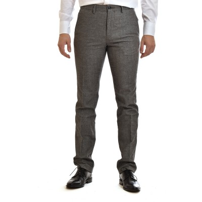 Tommy Hilfiger Chino Trousers Denton Wool Look Flex-Beige