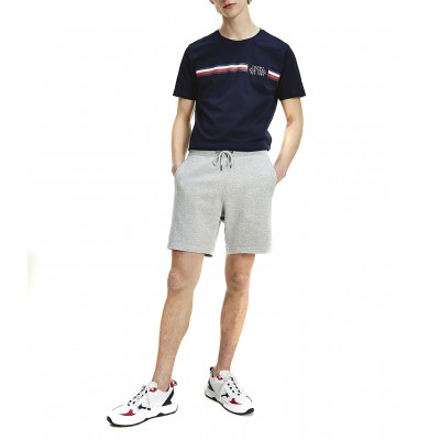 Tommy Hilfiger Sweatshort Essential Tommy-Medium Grey Heather