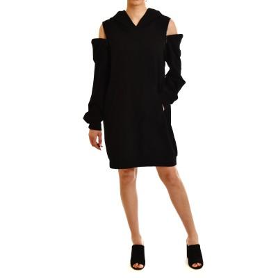 Innocent Sweat Dress With Zips-Black
