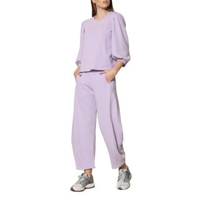 Innocent Sweatshirt With Puffed Sleeves-Lilac