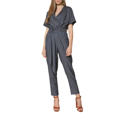 Innocent Jumpsuit Striped-Blue