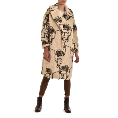 Motel Coat Frida-Beige/Brown