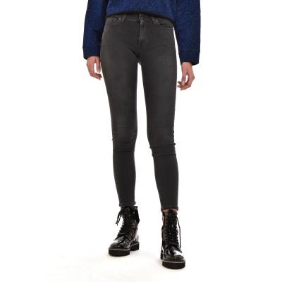 Replay Jeans Skinny Black Power Strech Denim-Dark Grey