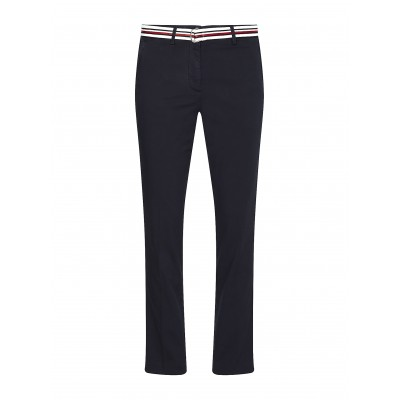 Tommy Hilfiger Pants Chinos CO Tencel Slim-Desert Sky
