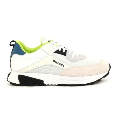 Diesel Sneaker S-Tyghe Low Cut In Suede Mesh & Leather-White/Blue